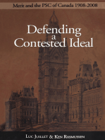 Defending a Contested Ideal: Merit and the Public Service Commission, 1908–2008