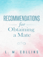 Recommendations for Obtaining a Mate