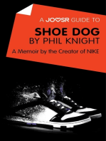 A Joosr Guide to... Shoe Dog by Phil Knight