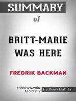 Summary of Britt-Marie Was Here