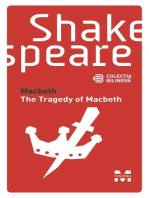Macbeth / The Tragedy of Macbeth (Ediție bilingvă)