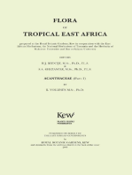 Flora of Tropical East Africa