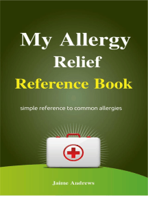 My Allergy Relief Reference Book: Reference Books, #1