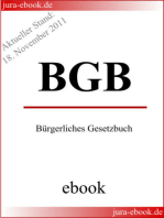 BGB - Bürgerliches Gesetzbuch - E-Book - Aktueller Stand
