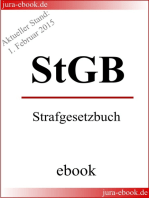 StGB - Strafgesetzbuch - Aktueller Stand