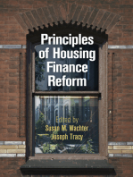 Principles of Housing Finance Reform