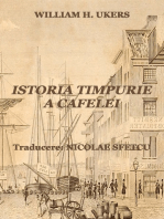 Istoria timpurie a cafelei