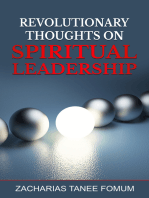 Revolutionary Thoughts on Spiritual Leadership