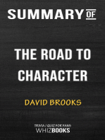 Summary of The Road to Character by David Brooks | Trivia/Quiz for Fans