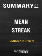 Summary of Mean Streak by Sandra Brown | Trivia/Quiz for Fans