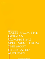 Tales from the German, Comprising specimens from the most celebrated authors
