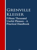 Fifteen Thousand Useful Phrases: A Practical Handbook