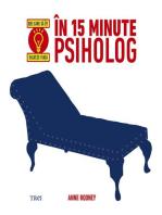 În 15 minute psiholog. Idei care să îți salveze viața