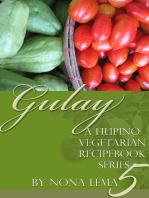 Gulay Book 5, A Filipino Vegetarian Recipebook Series