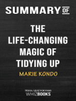 Summary of The Life-Changing Magic of Tidying Up by Marie Kondo | Trivia/Quiz for Fans