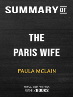Summary of The Paris Wife By Paula McLain | Trivia/Quiz for Fans
