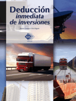 Deducción inmediata de inversiones 2016