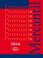 Prontuario Mercantil 2016