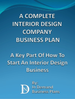 A Complete Interior Design Company Business Plan