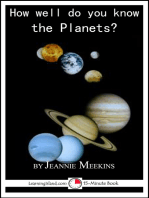 How Well Do You Know the Planets?