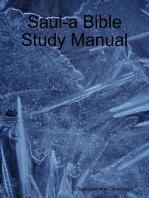 Saul-a Bible Study Manual