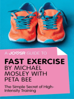 A Joosr Guide to... Fast Exercise by Michael Mosley with Peta Bee