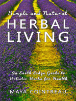 Simple and Natural Herbal Living