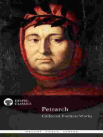 Delphi Collected Poetical Works of Francesco Petrarch (Illustrated)