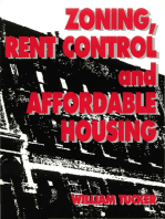 Zoning, Rent Control and Affordable Housing