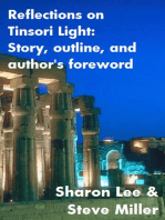 Reflections on Tinsori Light