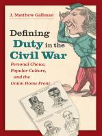 Defining Duty in the Civil War