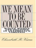 We Mean to Be Counted
