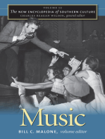 The New Encyclopedia of Southern Culture: Volume 12: Music