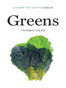 Greens: a Savor the South® cookbook