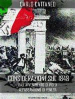 Considerazioni sul 1848