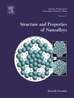 Structure and Properties of Nanoalloys