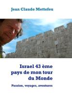 Israel 43 ème pays de mon tour du Monde