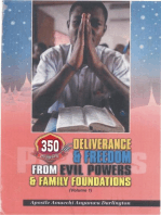350-Prayers for Deliverance from evil Powers and bad Foundations