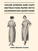 House Aprons and Caps - Instruction Paper with Examination Questions