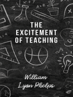 The Excitement of Teaching