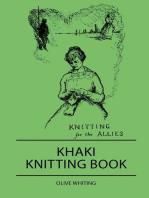 Khaki Knitting Book