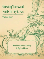 Growing Trees and Fruits in Dry Areas - With Information on Growing for Dry Land Farms