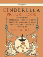 Cinderella Picture Book - Containing Cinderella, Puss in Boots & Valentine and Orson - Illustrated by Walter Crane