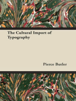 The Cultural Import of Typography