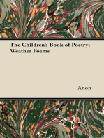 The Children's Book of Poetry; Weather Poems