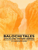 Balochi Tales (Folklore History Series)