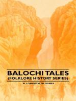 Balochi Tales (Folklore History Series)
