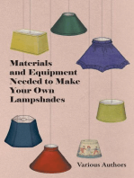 Materials and Equipment Needed to Make Your Own Lampshades