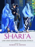 Shari'a Law and Modern Muslim Ethics