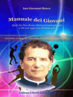 Manuale dei Giovani - Quel che Don Bosco diceva ai suoi giovani e che noi oggi non diciamo più